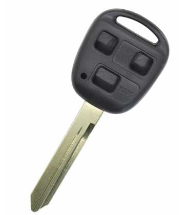 Coque compatible Toyota 3 boutons
