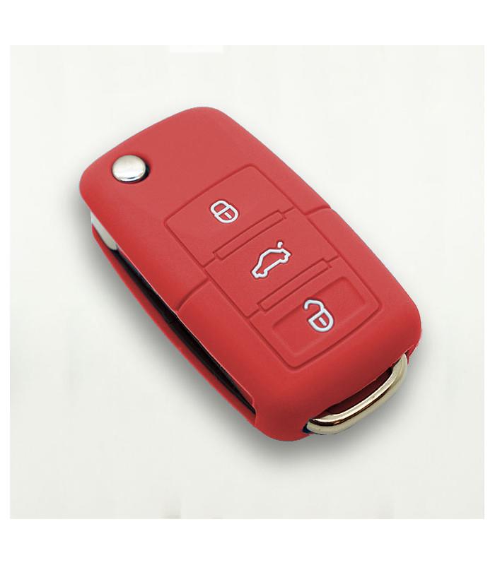 Housse silicone pour clé VW 3 boutons
