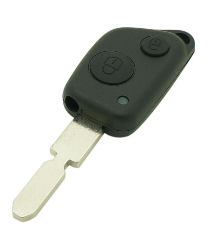 Coque compatible PSA 2 boutons
