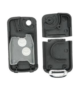 Coque modifiée compatible Peugeot / Citroën 2 boutons