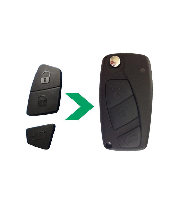 Bouton 3 touches pour FIAT