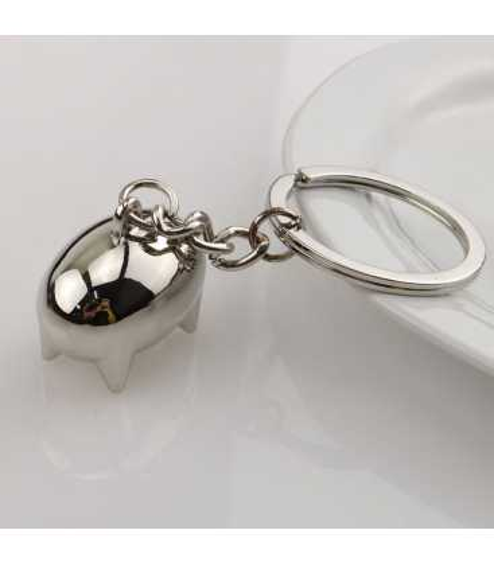 Porte clés Métal Forme stylisée