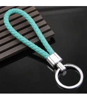 Porte clés Tresse Blue Baby