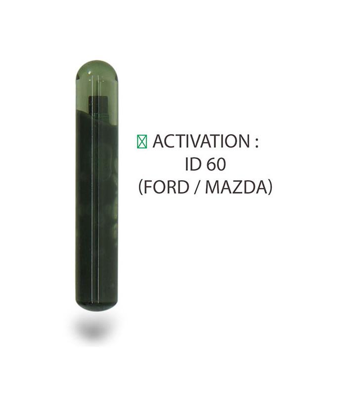 Transpondeur activation ID 60 Ford / Mazda