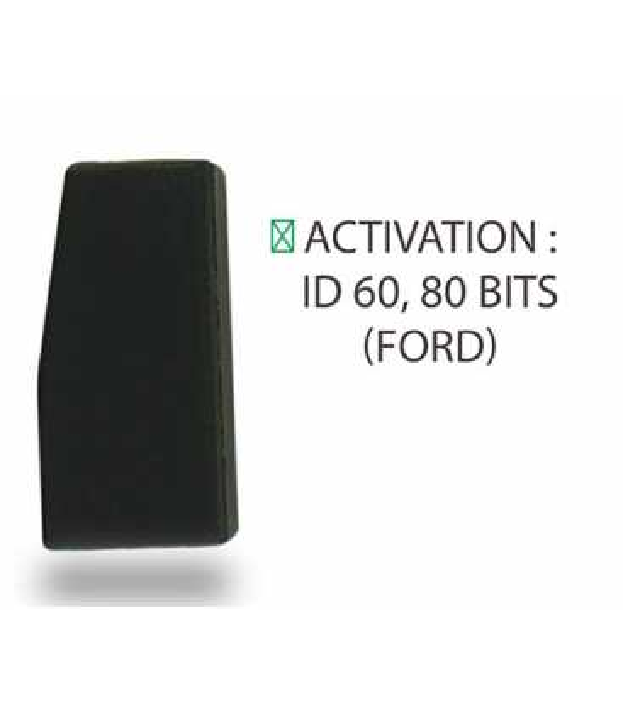 Transpondeur activation ID 60, 80 bits pour Ford