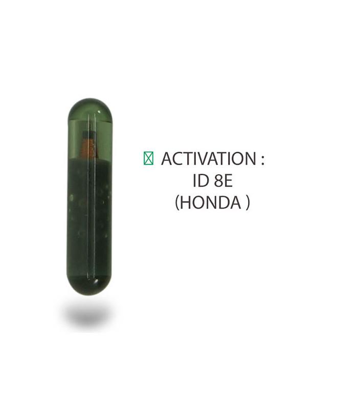 Transpondeur activation ID 8E Honda