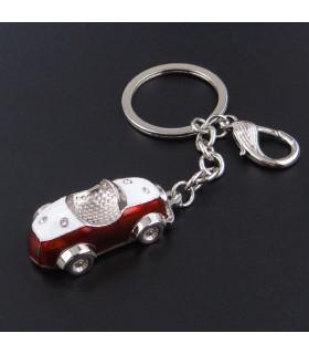 Porte clés Auto Rétro Rouge