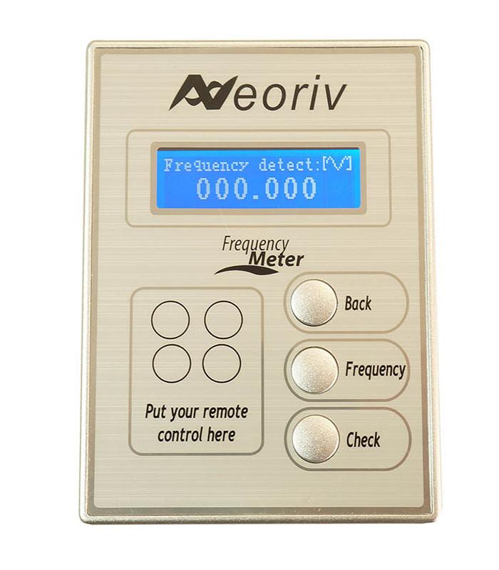 Fréquencemètre : Testeur Fréquence et comparateur de Codes