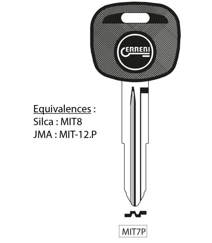 MIT7P - Clé à transpondeur