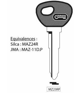MZ23RP - Clé à transpondeur