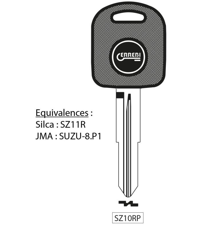 SZ10RP - Clé à transpondeur