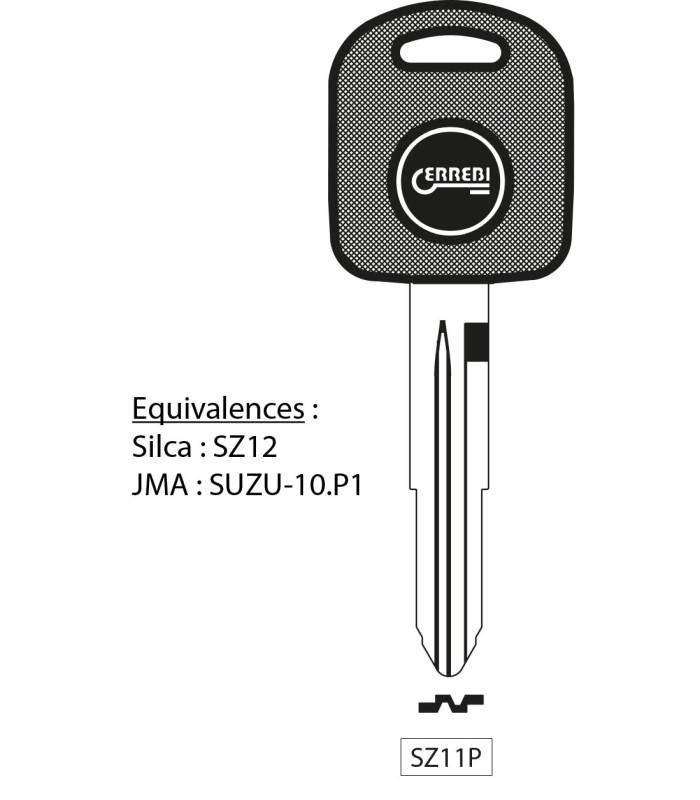 SZ11P - Clé à transpondeur