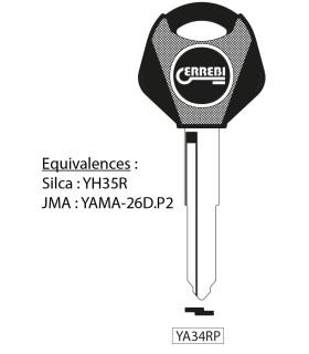 YA34RP - Clé à transpondeur