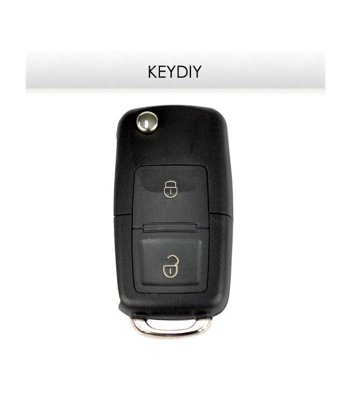 B01-2 Télécommande voiture universelle Keydiy 2 boutons