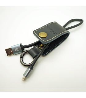Porte clé chargeur Noir USB / MICRO-USB