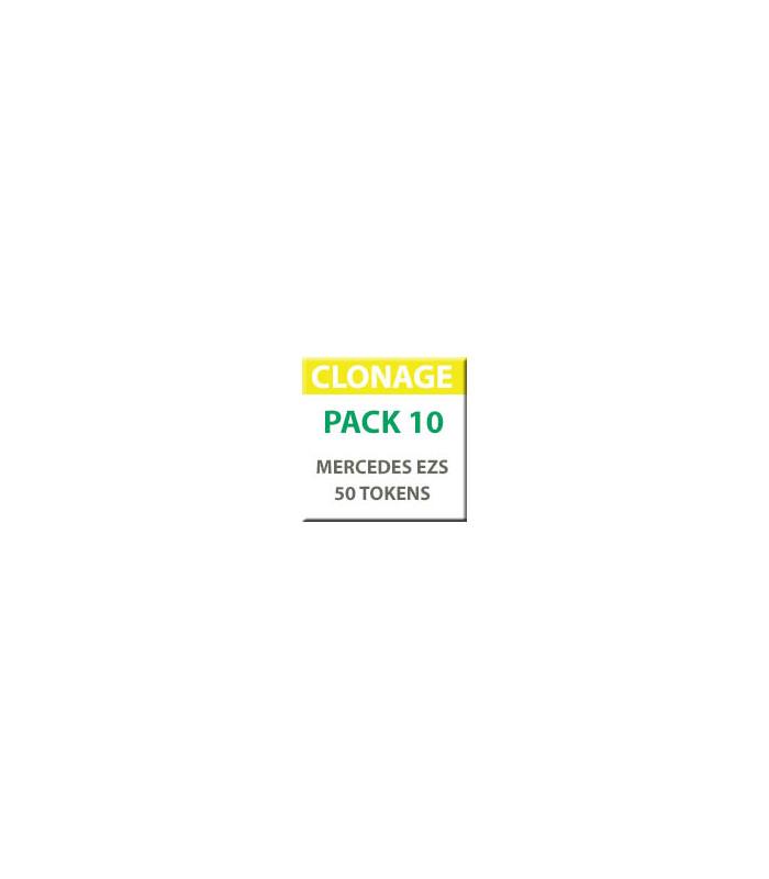MiraClone - Pack 10 - 50 Tokens - Calcul de la clé à partir de l'unité EZS