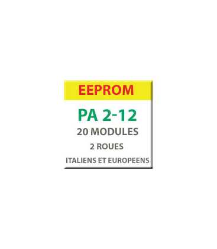 MiraClone - EEPROM Pack 20 modules 2 roues italiens et européens