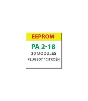 MiraClone - EEPROM Pack 30 Véhicules Peugeot Citroën