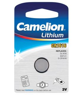 CR1616 Pile Lithium 3V - Boite de 10 blisters individuels