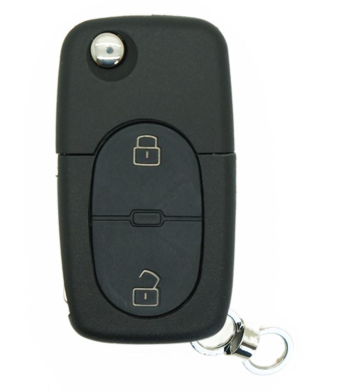 Coque compatible Audi 2 boutons
