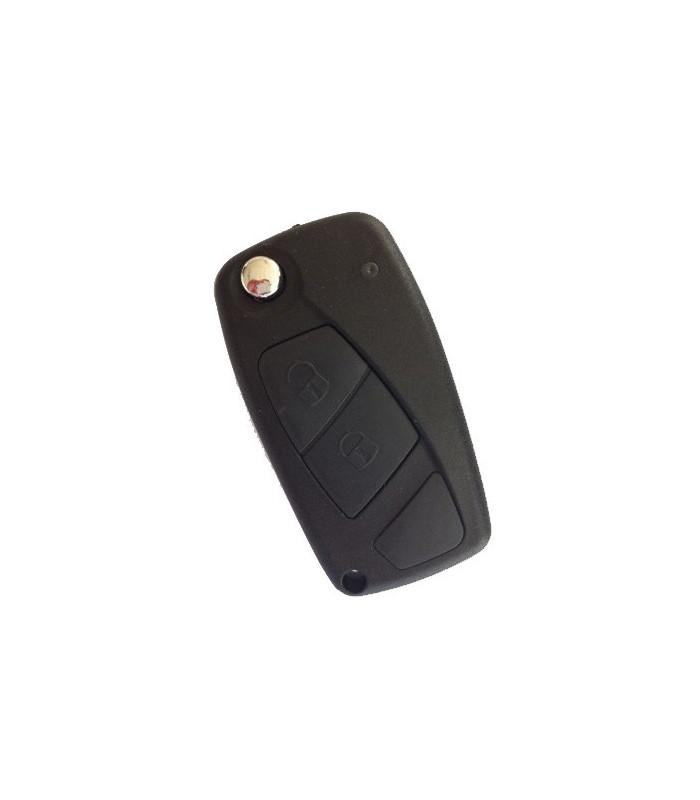 Coque + lame compatible Fiat 2 boutons