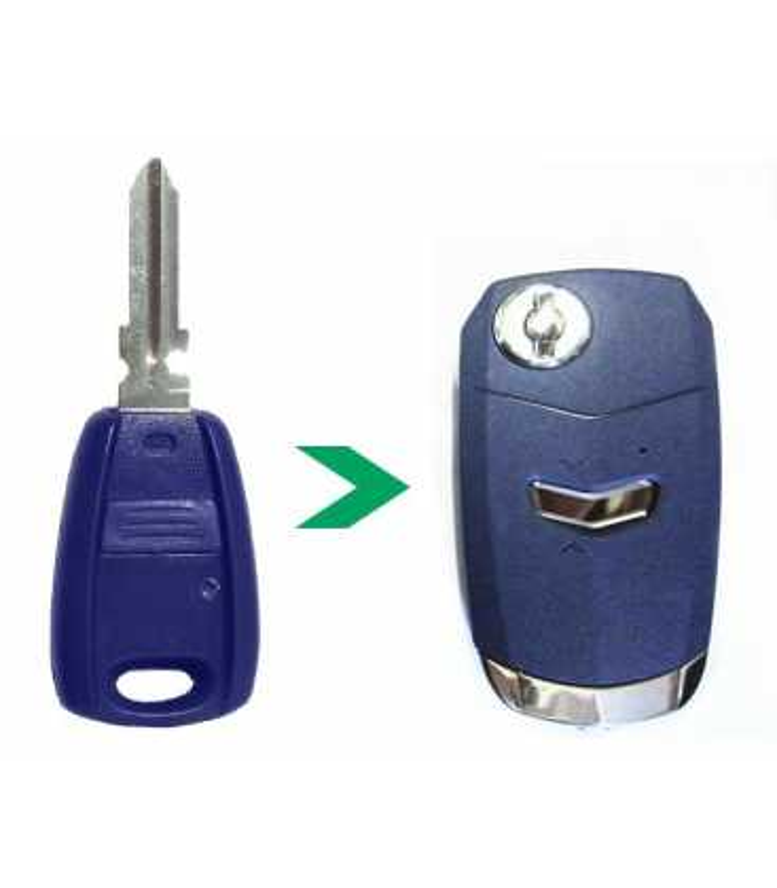 Coque modifiée compatible Fiat 1 bouton
