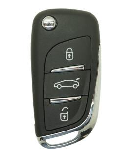 Coque compatible Citroën C4 3 boutons