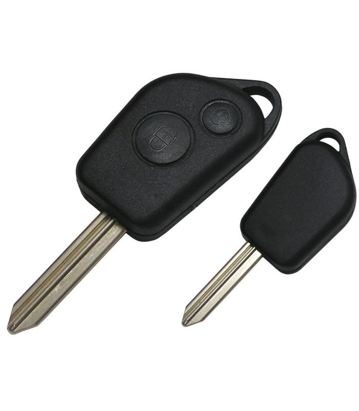 Coque compatible Peugeot / Citroën 2 boutons