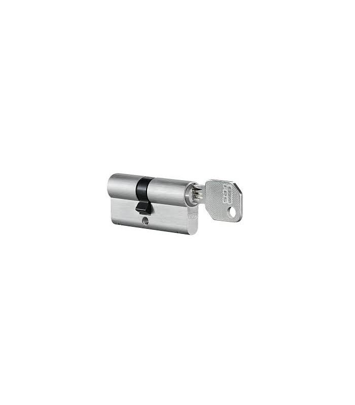 Cylindre 2 entrées 31+41 mm avec 3 clés + carte de propriété