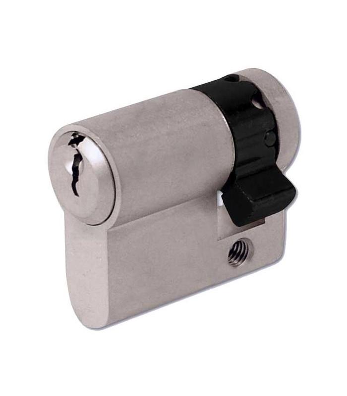 1/2 cylindre 9+32 mm avec 3 clés + carte de propriété