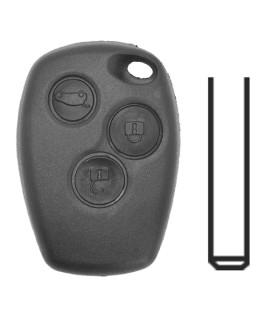Télécommande 3 boutons Renault Clio, Kangoo, Msster, Modus