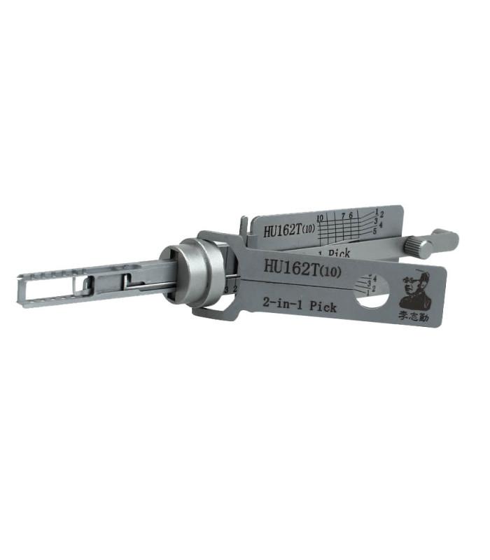 Lishi HU162-SC10-V3-AG crocheteur décodeur pour HU162T 2-in-1 Mr Li