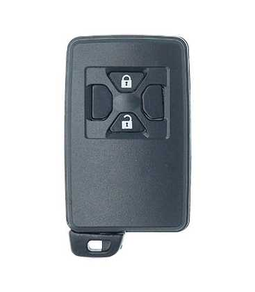 Coque compatible Toyota 2 boutons