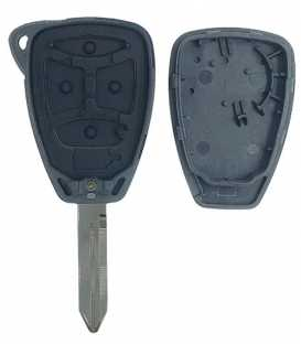 Coque Chrysler 3 boutons compatible