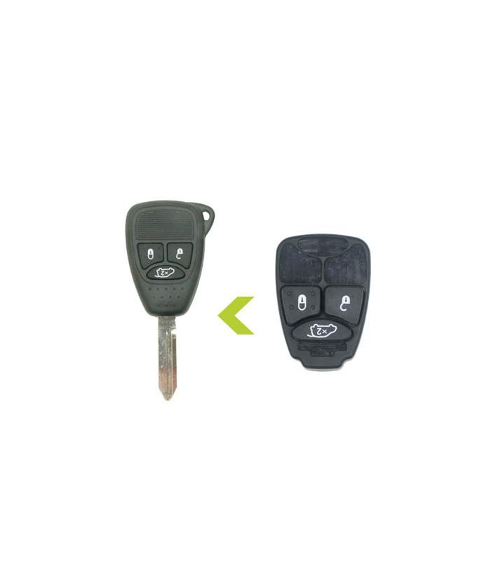 Bouton 3 touches pour Chrysler  x2