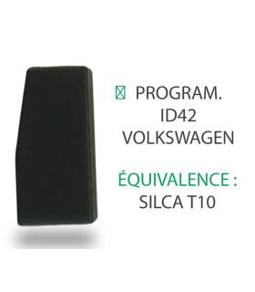 Transpondeur Philips Crypto ID42 Volkswagen (Silca T10)