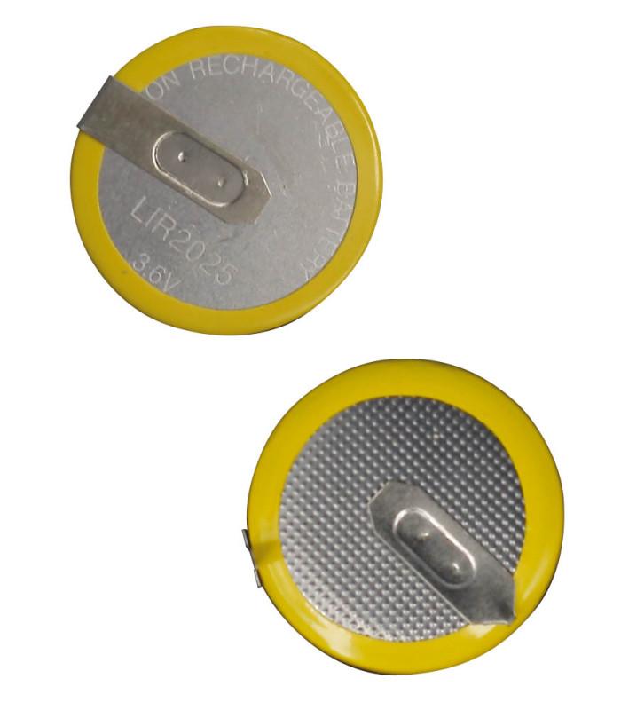 Pile pour Mini rechargeable batterie CR2025 3,6V