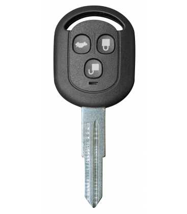 Coque compatible Chevrolet / Daewoo 3 boutons