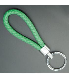 Porte clés Tresse Vert Ecosse