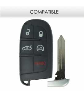 Télécommande compatible Chrysler 300, Jeep Grand Cherokee, Dodge Charger / Chalenger / Dart