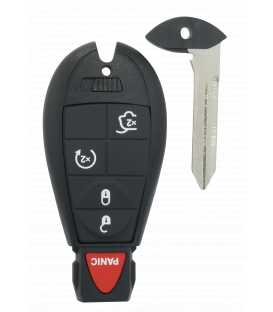 Coque Chrysler 5 boutons compatible