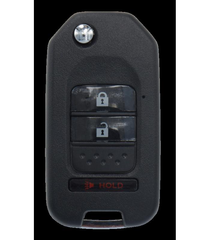 Coque compatible Honda 3 boutons