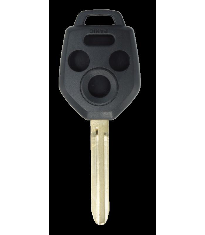 Coque compatible Subaru 4 boutons