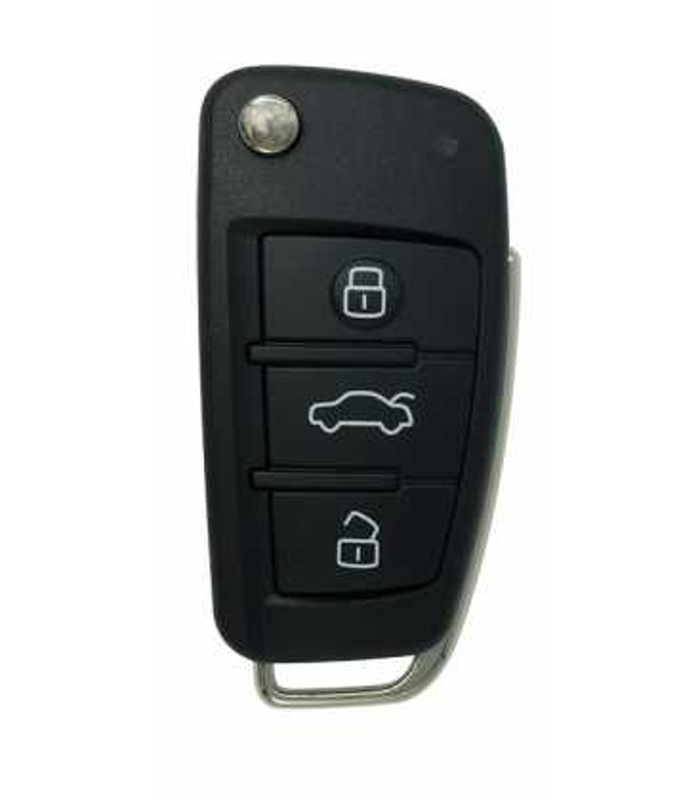 Coque 3 boutons compatible Audi