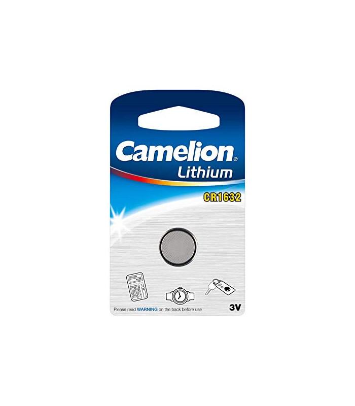 CR1632 Pile Lithium 3V  - Boite de 10 blisters individuels