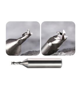 Fraise à rainurer 2 tailles Ø 5,0 mm en carbure monobloc pour machines SILCA FUTURA