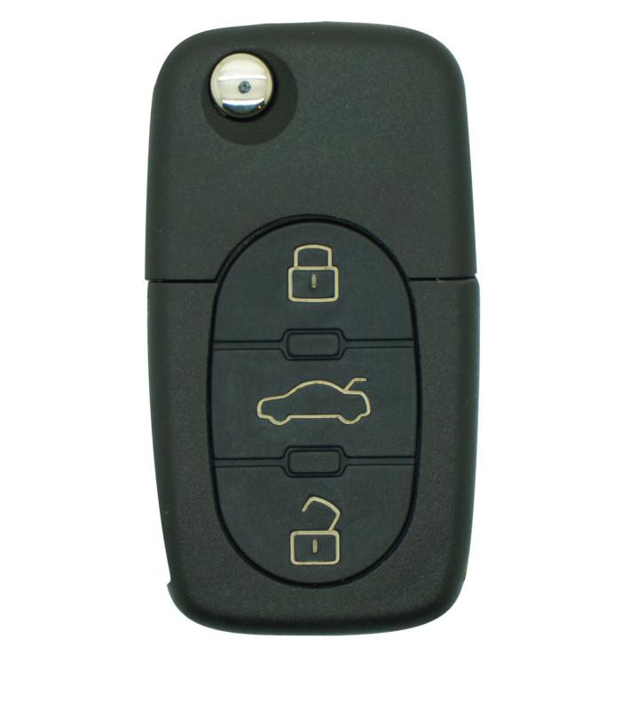 Coque télécommande Volkswagen  Golf-Passat-Touareg-Phaeton 3 boutons