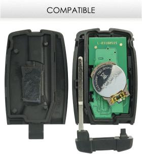 Télécommande compatible Range Rover Freelander 2007-2012