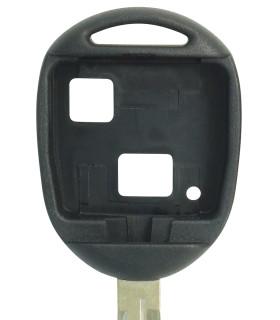 Coque clé 2 boutons Qualité supérieure pour Toyota Lame TOY43