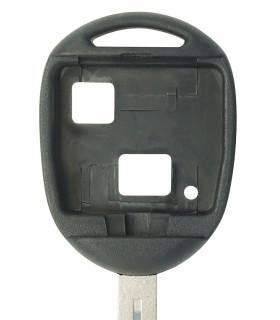 Coque clé 2 boutons Qualité supérieure pour Toyota Lame TOY40